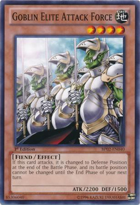 YuGiOh Battle Pack 2: War of the Giants Common Goblin Elite Attack Force BP02-EN040
