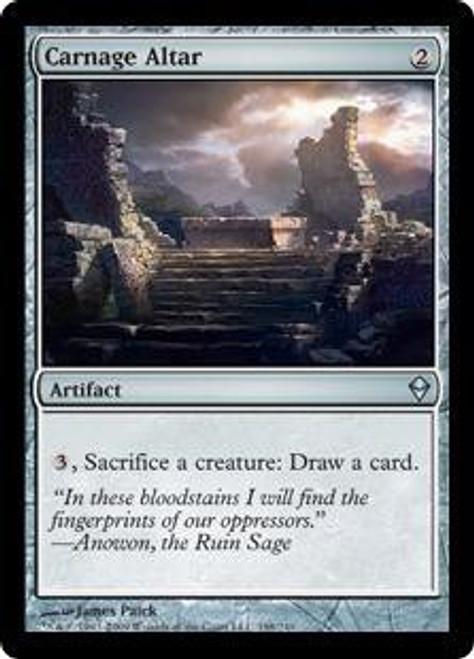 MtG Zendikar Uncommon Carnage Altar #198