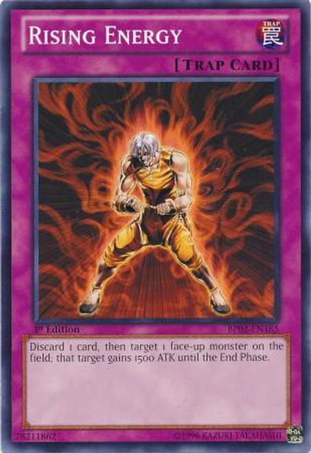 YuGiOh Battle Pack 2: War of the Giants Common Rising Energy BP02-EN185