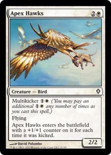 MtG Worldwake Common Apex Hawks #2