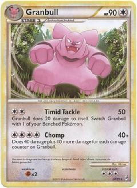 Pokemon Trading Card Game Call of Legends Rare Granbull #26