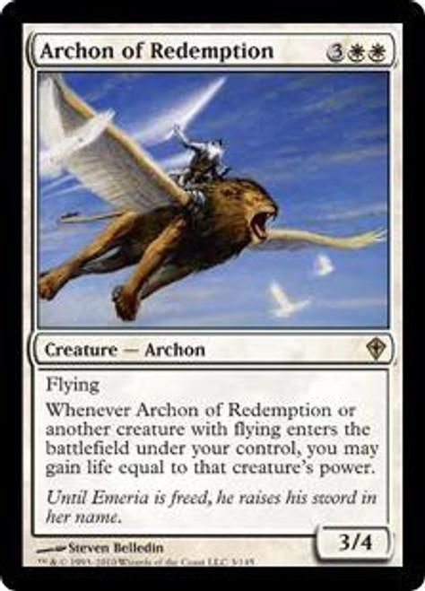 MtG Worldwake Rare Archon of Redemption #3