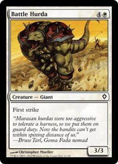 MtG Worldwake Common Battle Hurda #4