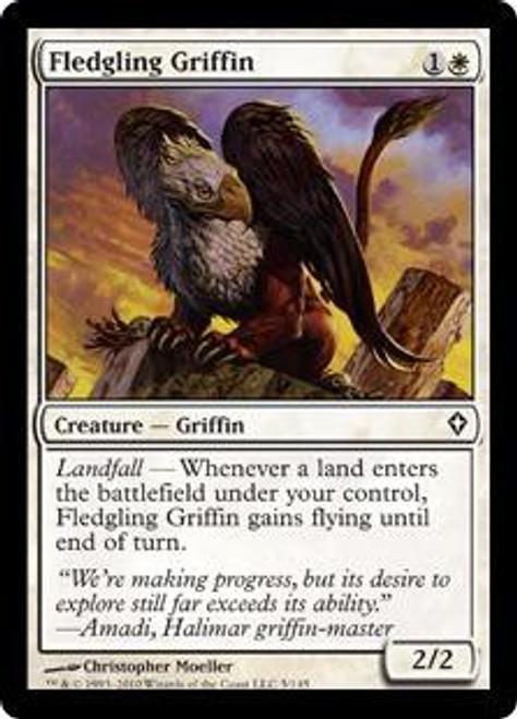 MtG Worldwake Common Fledgling Griffin #5