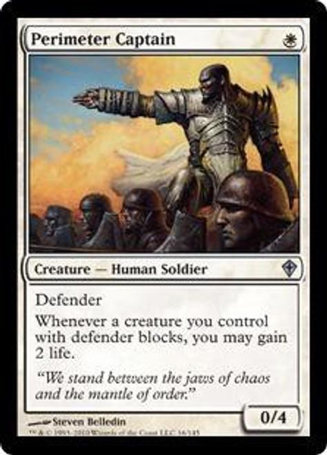MtG Worldwake Uncommon Perimeter Captain #16