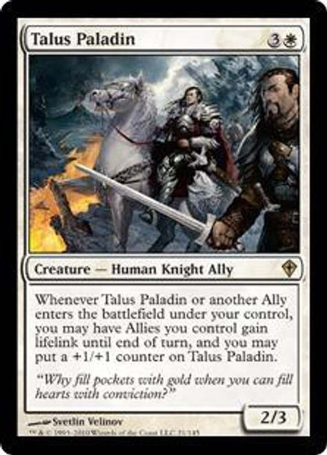 MtG Worldwake Rare Talus Paladin #21