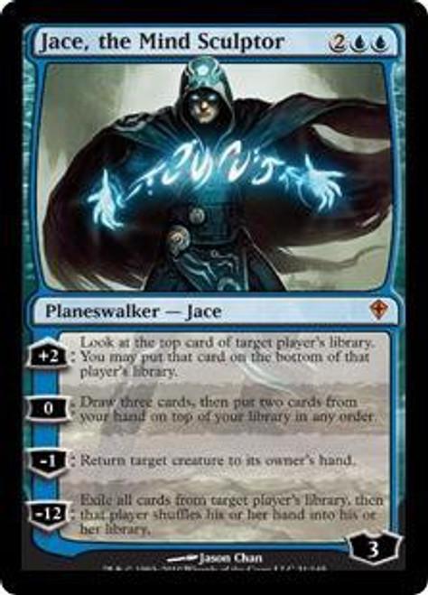 MtG Worldwake Mythic Rare Jace, the Mind Sculptor #31