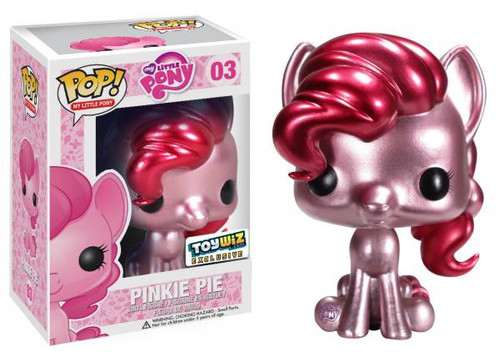 Funko POP! My Little Pony Metallic Pinkie Pie Exclusive Vinyl Figure #03 [Metallic]