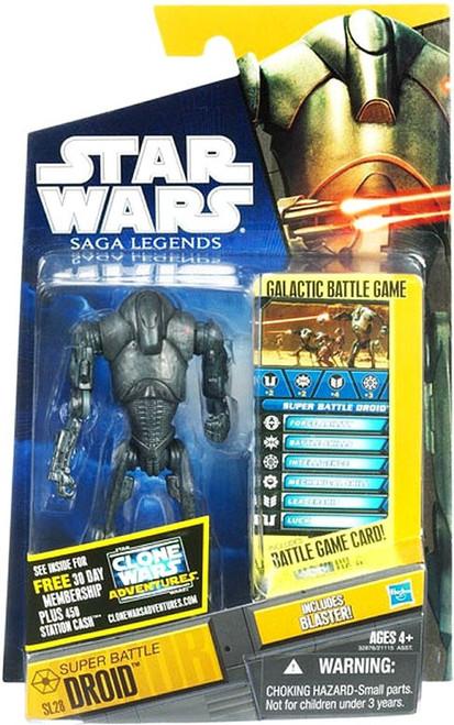 Star Wars Revenge of the Sith Saga Legends 2011 Super Battle Droid Action Figure SL28