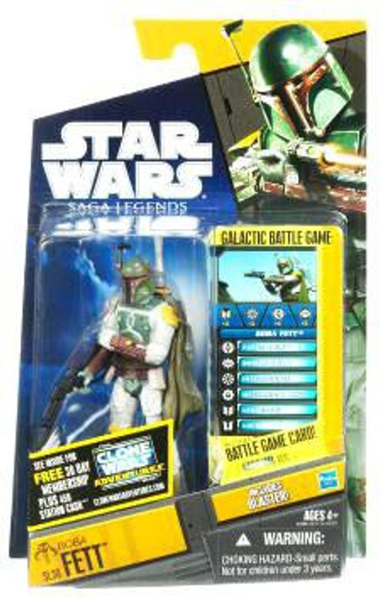 Star Wars Return of the Jedi Saga Legends 2011 Boba Fett Action Figure SL30