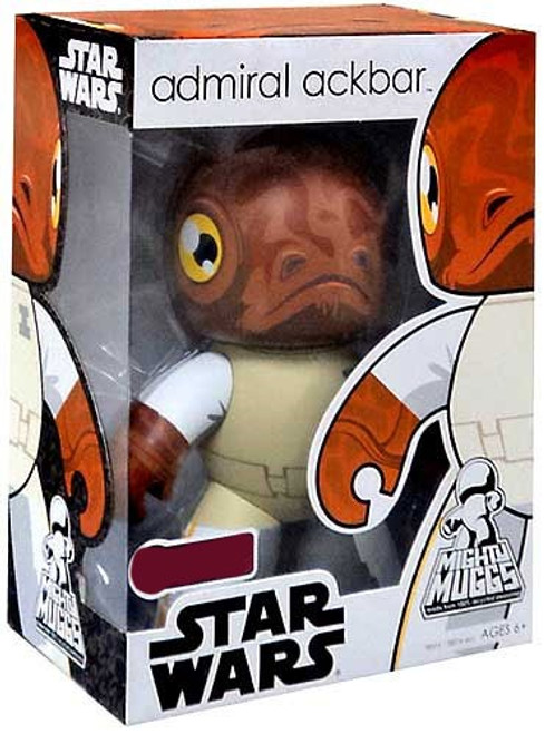 Star Wars Return of the Jedi Mighty Muggs Exclusives Admiral Ackbar Exclusive Vinyl Figure