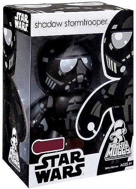 Star Wars Expanded Universe Mighty Muggs Exclusives Shadow Stormtrooper Exclusive Vinyl Figure