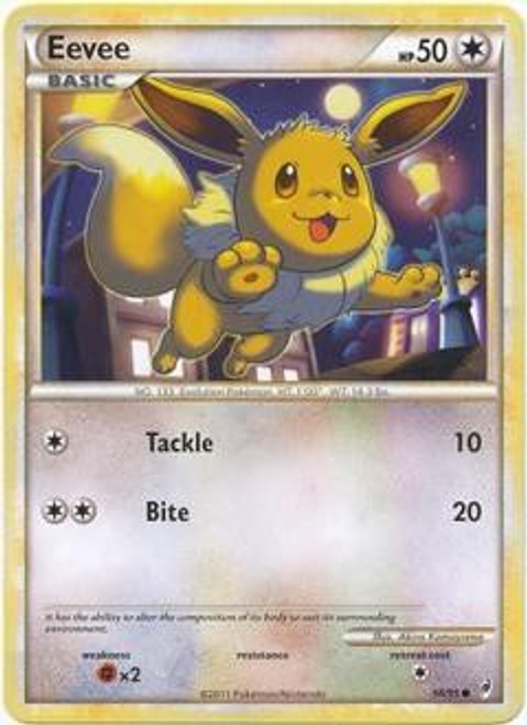 Pokemon Trading Card Game Call of Legends Common Eevee #56