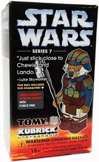 Star Wars Return of the Jedi Kubrick Series 7 Lando Calrissian as Skiff Guard Mini Figure
