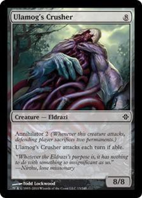 MtG Rise of the Eldrazi Common Ulamog's Crusher #13