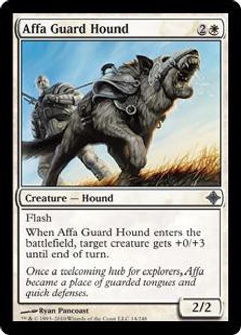 MtG Rise of the Eldrazi Uncommon Affa Guard Hound #14
