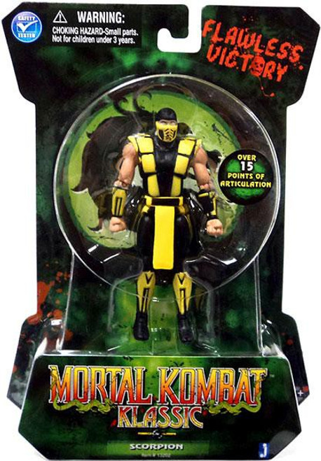 Mortal Kombat Klassic MK2 Scorpion Action Figure