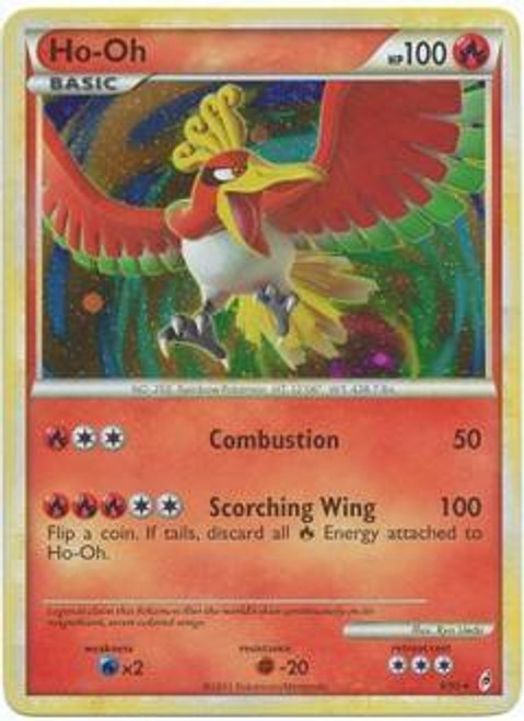 Pokemon Trading Card Game Call of Legends Rare Holo Ho-Oh #9