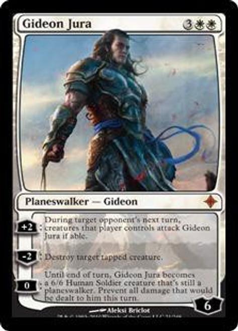 MtG Rise of the Eldrazi Mythic Rare Gideon Jura #21