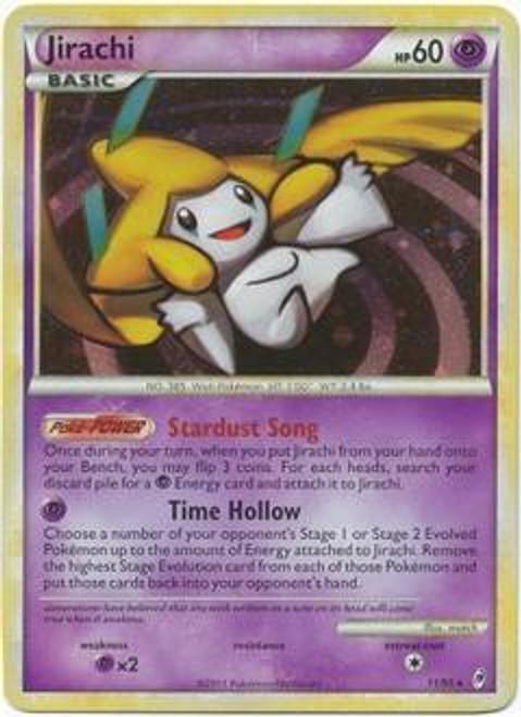 Pokemon Trading Card Game Call of Legends Rare Holo Jirachi #11