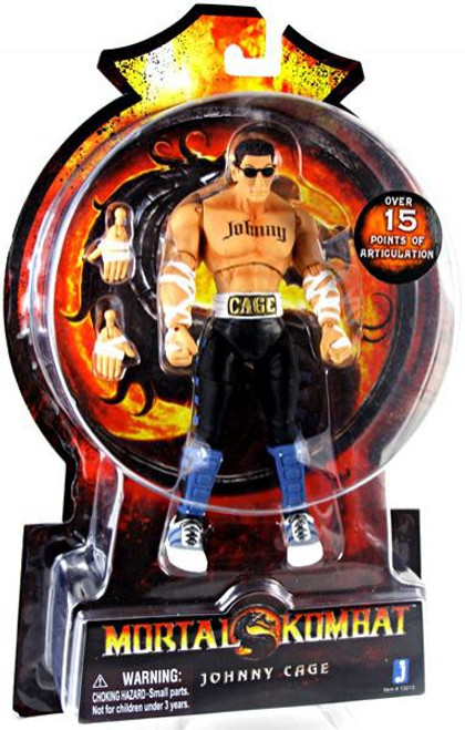 Mortal Kombat 20th Anniversary Johnny Cage Action Figure
