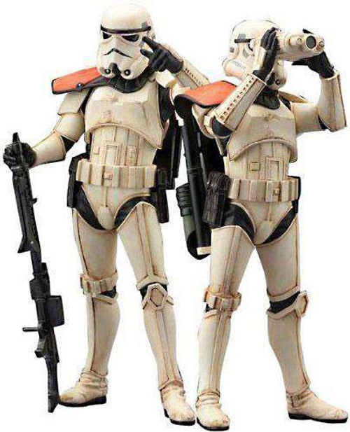 Star Wars ArtFX Sandtrooper Squad Leader Statue 2-Pack