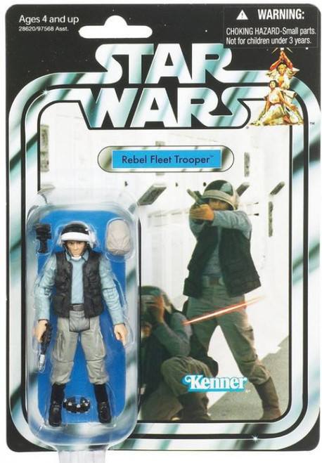 Star Wars A New Hope 2011 Vintage Collection Rebel Fleet Trooper Action Figure #52