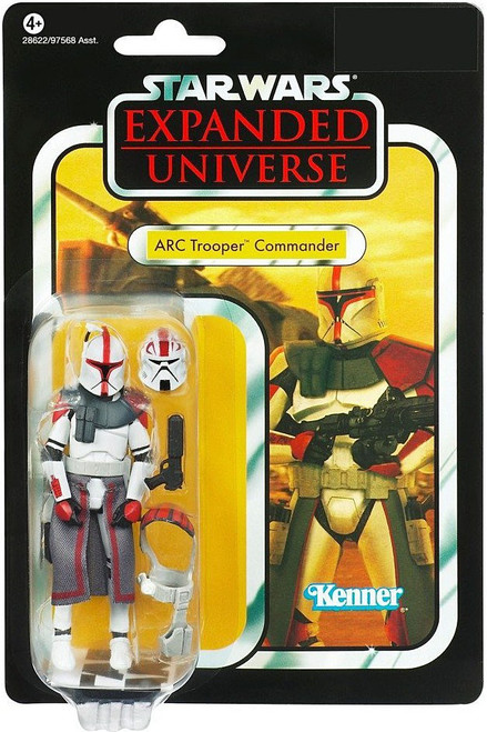 Star Wars Expanded Universe 2011 Vintage Collection ARC Trooper Commander Action Figure #54