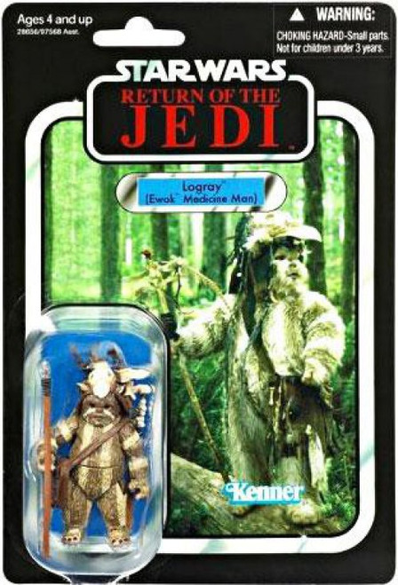 Star Wars Return of the Jedi 2011 Vintage Collection Logray Action Figure #55 [Ewok Medicine Man]