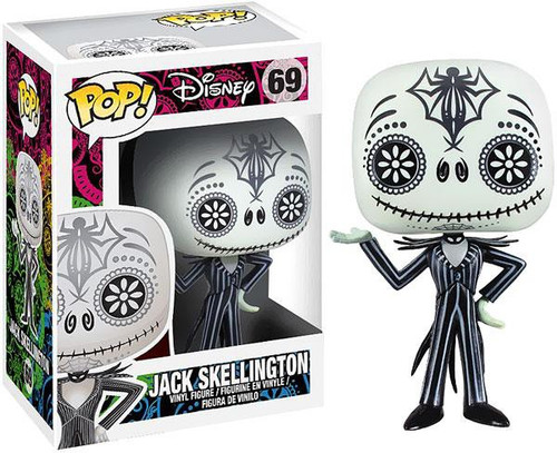 Funko Nightmare Before Christmas POP! Disney Jack Skellington Vinyl Figure #69 [Day of the Dead]
