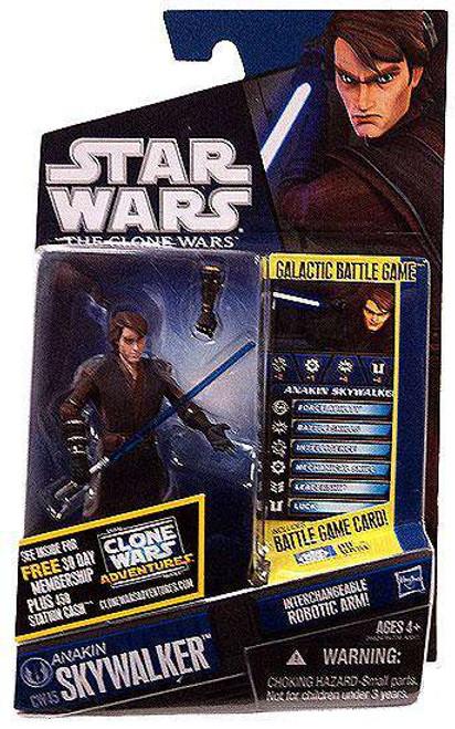 Star Wars The Clone Wars 2011 Anakin Skywalker Action Figure CW45