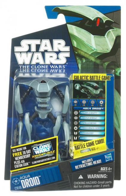 Star Wars The Clone Wars 2011 Aqua Battle Droid Action Figure CW46