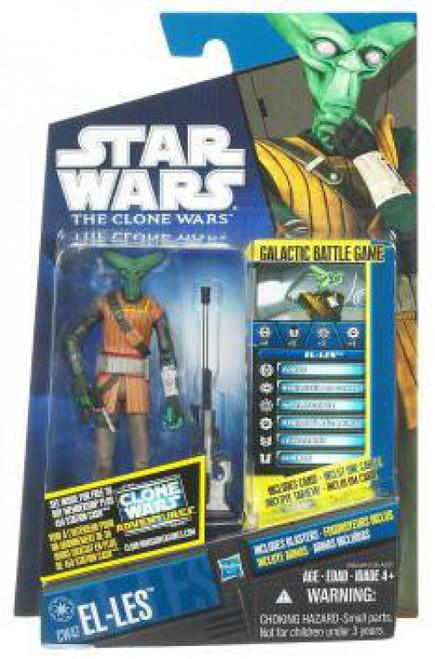 Star Wars The Clone Wars 2011 El-Les Action Figure CW47