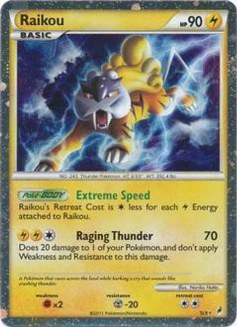 Pokemon Trading Card Game Call of Legends Ultra Rare Raikou SL9