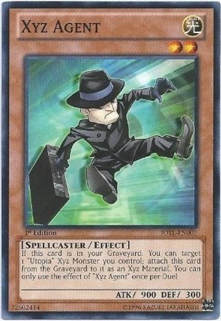 YuGiOh Trading Card Game Judgment of the Light Common Xyz Agent JOTL-EN005