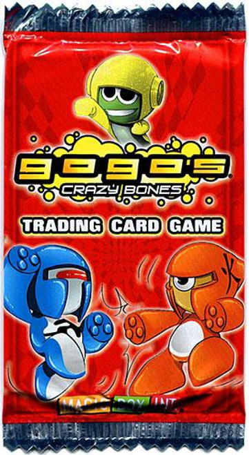 Trading Card Game Crazy Bones Booster Pack