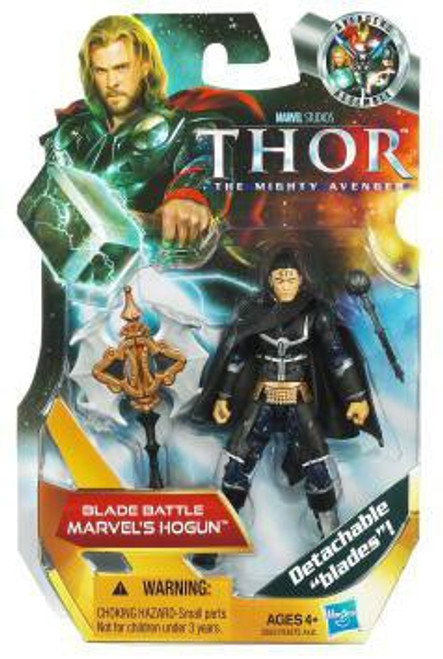 Thor The Mighty Avenger Blade Battle Marvel's Hogun Action Figure #9
