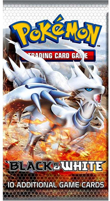 Pokemon Trading Card Game Black & White Base Set Booster Pack [10 Cards]