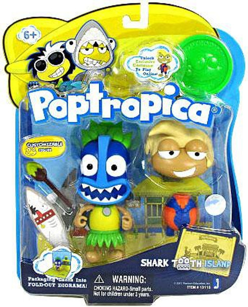 Poptropica Shark Tooth Island 3-Inch Mini Figure 2-Pack
