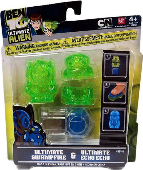 Ben 10 Ultimate Alien Ultimate Swampfire & Ultimate Echo Echo Molds