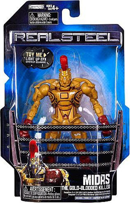 Real Steel Series 1 Midas Action Figure [The Gold Blooded Killer]