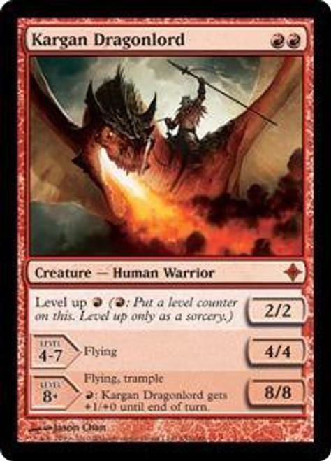 MtG Rise of the Eldrazi Mythic Rare Kargan Dragonlord #152