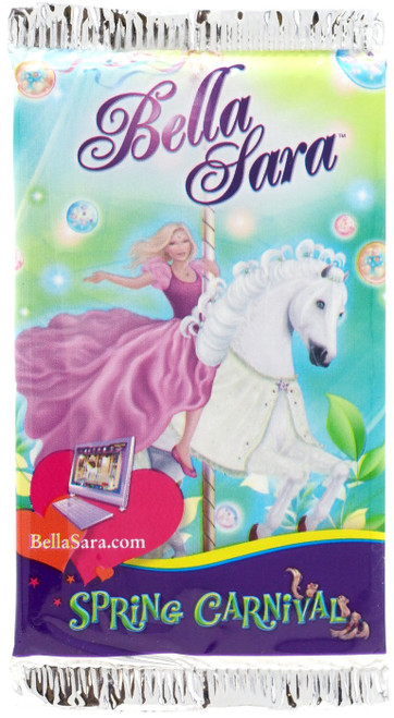 Bella Sara Collectible Card Game Spring Carnival Booster Pack