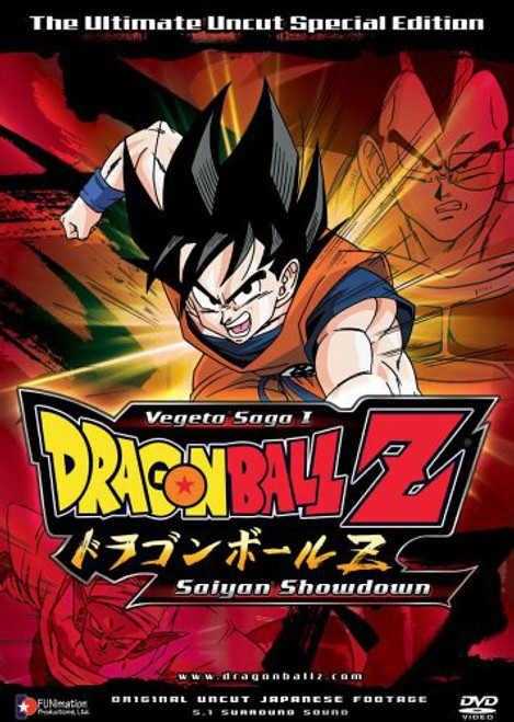 Dragon Ball Z Vegeta Saga 1 Saiyan Showdown Special Edition DVD #01 [Uncut]