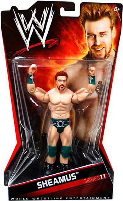 WWE Wrestling Series 11 Sheamus Action Figure
