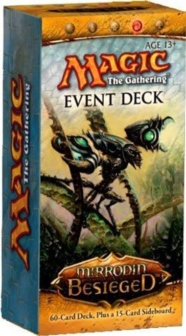 MtG Trading Card Game Mirrodin Besieged Into the Breach Event Deck