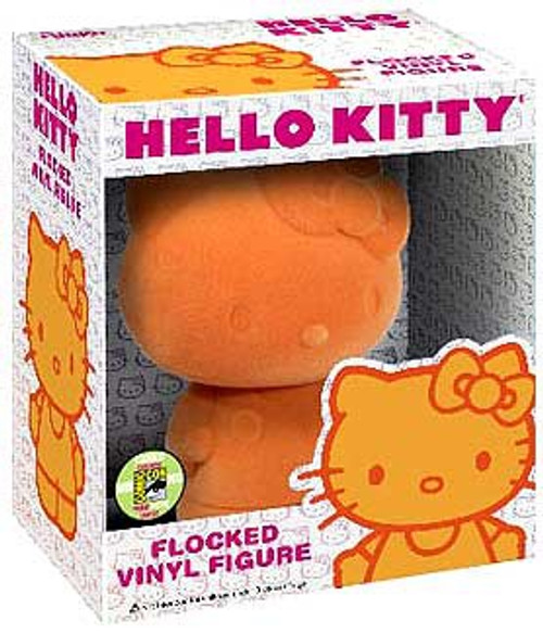 Funko Flocked Hello Kitty Exclusive 5-Inch Vinyl Figure [Flocked, Orange]
