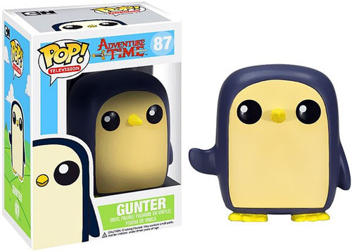 Funko Adventure Time POP! TV Gunter Vinyl Figure #87
