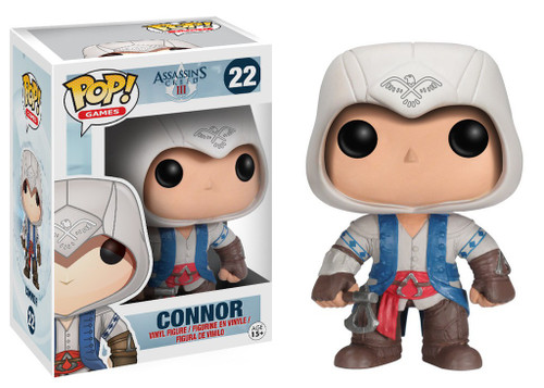 Funko Assassin's Creed POP! Games Connor Vinyl Figure #22