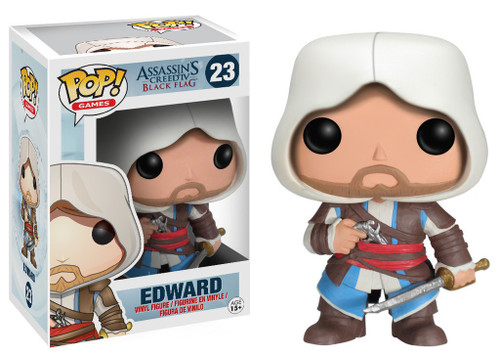 Funko Assassin's Creed POP! Games Edward Vinyl Figure #23